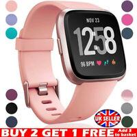 For Fitbit Versa 2 / Versa / Versa Lite Replacement Silicone Watch Band Strap UK