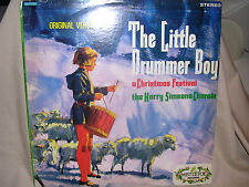 The Harry Simeone Chorale The Little Drummer Boy a Christmas Festival VG+  / G+
