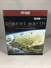 BBC Planet Earth The Complete Series HD DVD Region 2 UK Cert U HDDVD 5 Disc Set