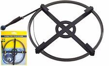 4.5 m/15 FT (environ 4.57 m) Déboucheur déboucheur évier canalisation serpent flexible bobine d'acier plomberie