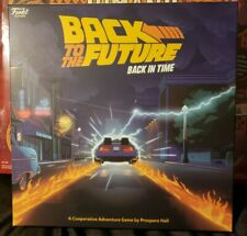 Funko Back to The Future - Back in Time Strategy Board Game - New
