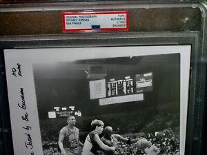 PSA Authentic MICHAEL JORDAN Photograph Original Type 1 1992  NBA FINALS Bulls