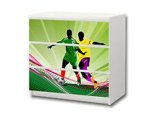 """""""Fußball"""" Aufkleber passend für Kommode IKEA MALM (3 Fächer) - M3K12"""