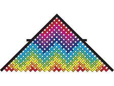 "Kite Waterfall Mesh 130"" x 65"" (Approx) Rainbow Delta Kite..125... PR 45352"