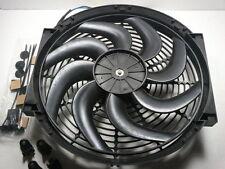 "14"" Electric Fan 2200 CFM W/ Iinstall Kit Heavy Duty New Reversable SBC BBC 350"