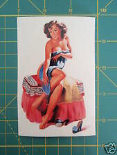 LAMBRETTA VESPA PIN-UP GIRL STICKER RB,TS,GP,SX,TV,LI(S