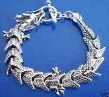 Charm Tibet Silver Men's Dragon Chain Bracelet   GH022