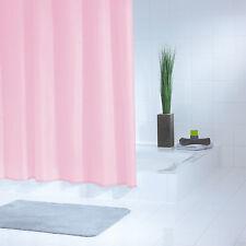 RIDDER Duschvorhang Standard rose - PVC-frei - 180 x 200 cm - inkl. Ringe