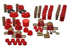 Energy Hyper Flex Bushing Kit For 95 96 97 98 Nissan 240SX S14 Red (7.18107R)