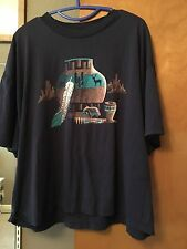 Vintage Hanes Heavyweight 50/50 XXL Southwestern Pottery Native American T-shirt