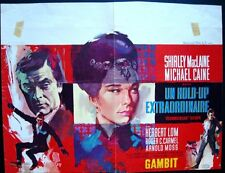 GAMBIT Belgian movie poster MICHAEL CAINE SHIRLEY MacLAINE RAY ELSEVIERS Art