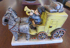 Vintage 1952 Hummel Goebel 226 The Mail Is Here Horse Carriage Figurine TMK4