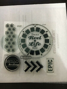 Close To My Heart Stamps - B1431 Reel Life - Everyday Life
