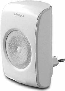 Friedland D3006S EVO Wireless Plug-in doorbell - No Push