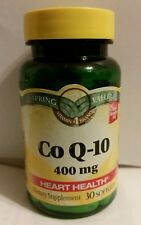 Spring Valley Co Q-10 - 400 mg  30 Softgels (Rare to find) See description