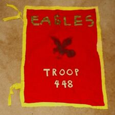 Vintage BSA Boy Scouts Eagles Troop 448 Flag