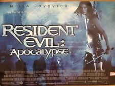 Mila Jovovich Resident Evil Apocolypse UK Original Movie Cinema Poster
