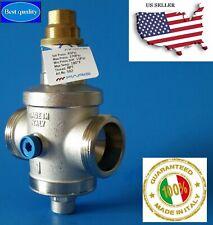 "Water Pressure Reducing Regulator Valve 1"" NPT Double Union (Made in Italy)"