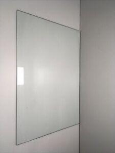 Used GE Refrigerator PSI23SGMCFBS Top Crisper Glass WR32X10200 (A3.3)