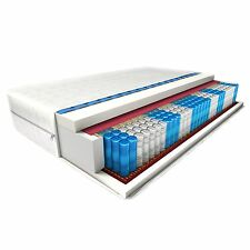 24cm DICKE! 9-ZONEN ATENA matratze 140X200 cm H2 orthopädisch Taschenfederkern