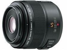 Panasonic LEICA DG MACRO ELMARIT 45mm F2.8 O.I.S. H-ES045 Lens Japan Model New