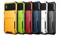 Damda Folder Apple iPhone X / XS S8 S9 VRS Design Verus Credit Card Wallet Case