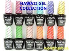 OPI GelColor Soak Off HAWAII COLLECTION Spring 2015 Kit of 12 Gel Polish