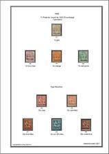 Album de timbres de Castellorizo 1920 à imprimer