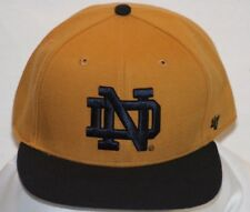 '47 Forty Seven Brand Snapback Yellow Notre Dame Cap/ Hat