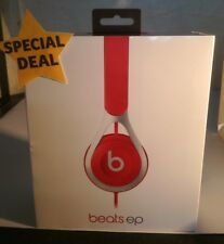 Beats by Dr Dre EP On-Ear Headphones Red Wired With RemoteTalk Cable