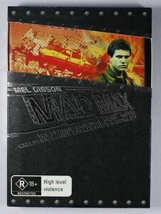 Mad Max DVD Collectors Edition w/- Booklet TRACKED POST