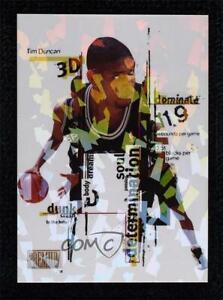 1998-99 Skybox Premium 3D Tim Duncan #8DDD HOF
