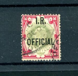 1902/04  I.R. Official  1s  (SG O24)  used     (J545)