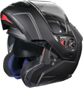 Castle Atom SV Modular Electric Snowmobile Helmet Matte Black L & 3XL