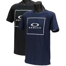 Oakley Jack Tee X 2 Mens Size L Large Navy Black Cotton Regular Logo T-shirt