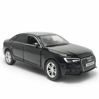 1:32 Scale Audi A4 Model Car Diecast Toy Vehicle Kids Collection Gift Black