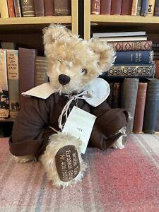 Hermann Teddy - Bruder (Friar) Tuck Bear -Limited Edition -Label -Mohair-Vintage
