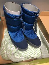 Crocs Winter Women Lodgepoint Pull Up Puff Boot Blue size UK 8 - New In Box ❤️
