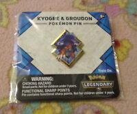 Brand New & Sealed Pokemon Promo Pin Kyogre & Groudon