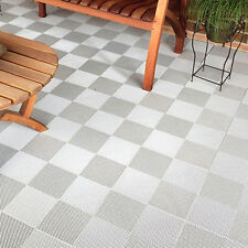 DECK AND PATIO FLOOR TILES WHITE | Made In The USA