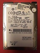 80GB APPLE/HITACHI Festplatte HTS542580K9SA00 auch für PC etc.
