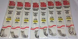 Lot of 3 packs Tru-Turn X long Panfish Hooks 868ZS  size 6 pack of 5  NEW