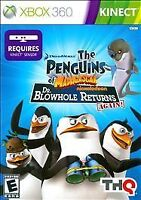 The Penguins of Madagascar Dr. Blowhole Returns Again Xbox 360 Kids Kinect Game