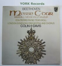 9500 636 - BEETHOVEN - Mass In C DAVIS / EDA-PIERRE / PAYNE - Ex Con LP Record