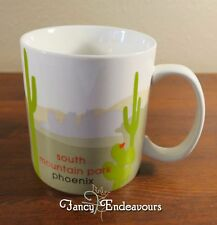 2007 Starbucks South Mountain Park Phoenix Mug 18 fl. oz. You Are Here YAH