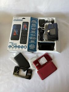 Schok Classic 8GB Flip 4G LTE GSM Unlocked Phone ATT/TMobile/Go-Phone/ Blue