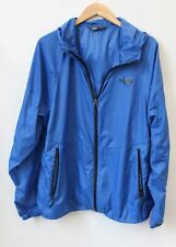 Mens THE NORTH FACE Blue Lightweight Windbreaker Jacket Size XL Used - L11