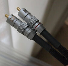 Goldmund signal cables for Western Electric 845 300B 2a3 KT88 805 tube amplifier