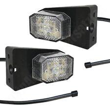 2x Aspöck Flexipoint LED Begrenzungsleuchten Positionsleuchten mit 0,5m Kabel