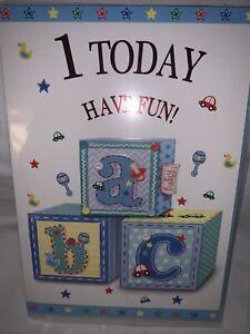 baby boy 1st birthday card /1st Birthday Card Boy / birthday card for 1 year old